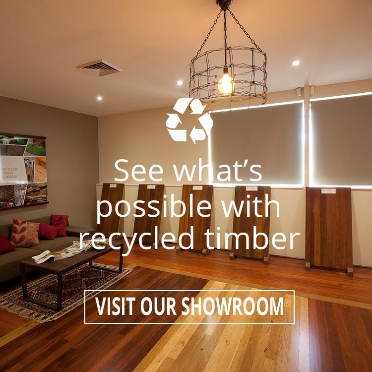 See what's possible with recycled timber