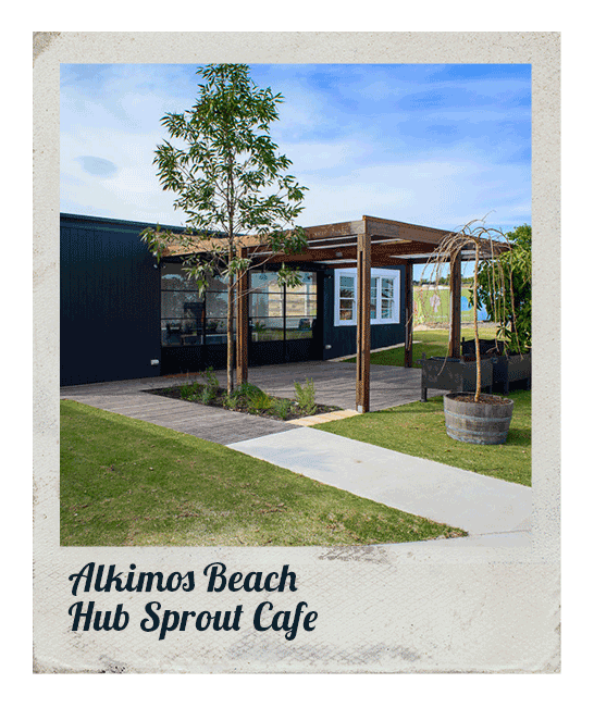 Hut Sprout Cafe, Alkimos Beach