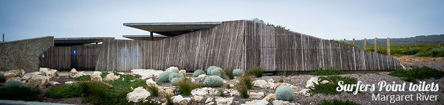 Bespoke Projects, Surfers Point Toilets, Margaret River