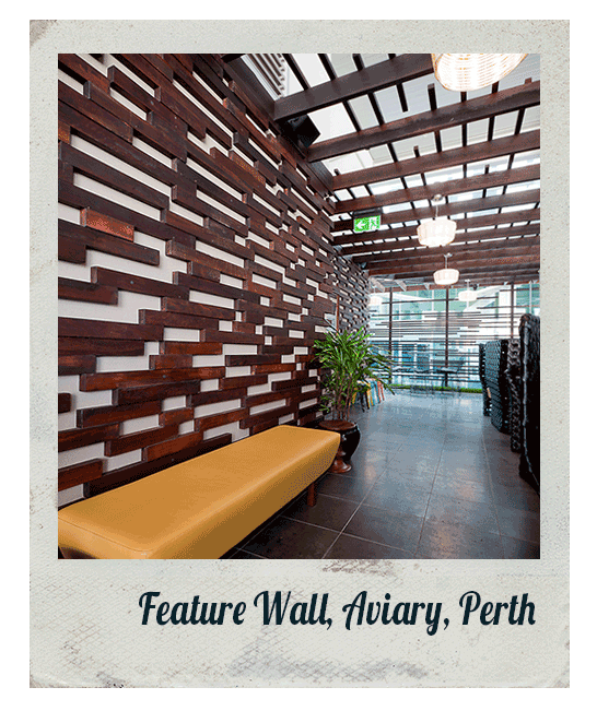 Feature Wall, Aviary, Perth