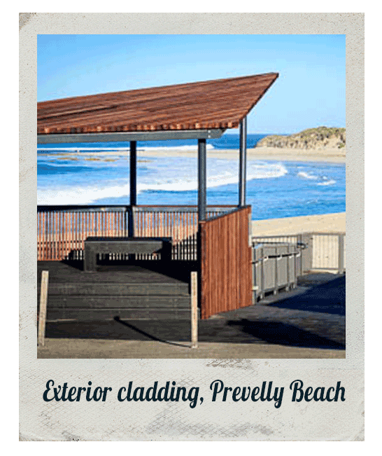 Exterior cladding, Prevelly Beach