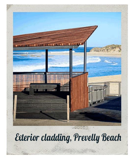 Exterior cladding, Prevelly Beach